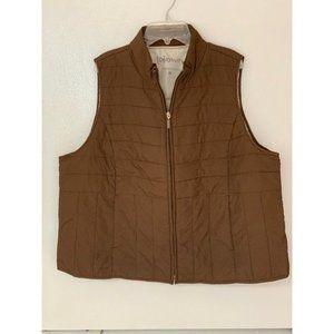 Relativity Women's Brown Quilted Vest